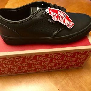 Vans leather shoes